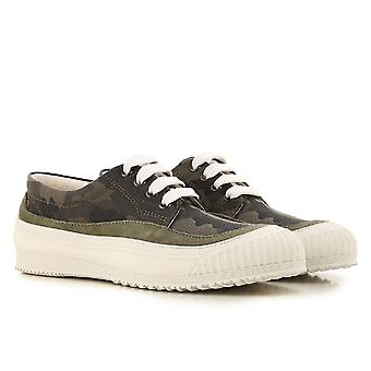 Hogan women's low top sneakers shoes in camouflage fabric