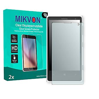 Nokia Elvis Screen Protector - Mikvon Clear (Retail Package with accessories) (intentionally smaller than the display due to its curved surface)