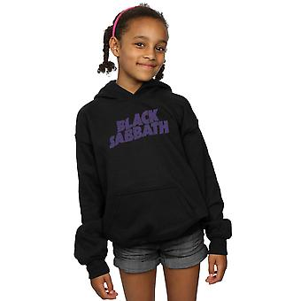 Black Sabbath jenter Distressed Logo Hettegenser