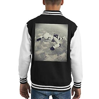 Original Stormtrooper Skydiving Kid's Varsity Jacket