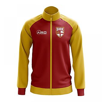 Sark Concept Football Track Jacket (Red)