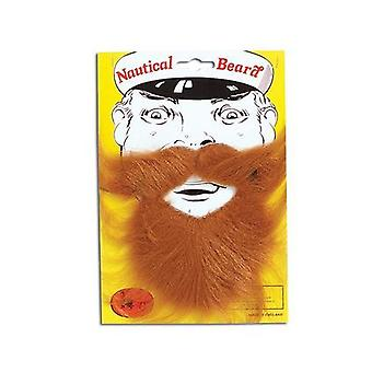 Nautical Beard. Brown.