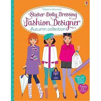 Dolly van de sticker Dressing modeontwerper herfst collectie door Fiona Wa