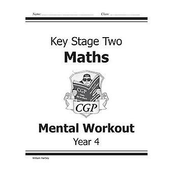 KS2 Maths Mental Workout - año 4 por William Hartley - 9781841460734