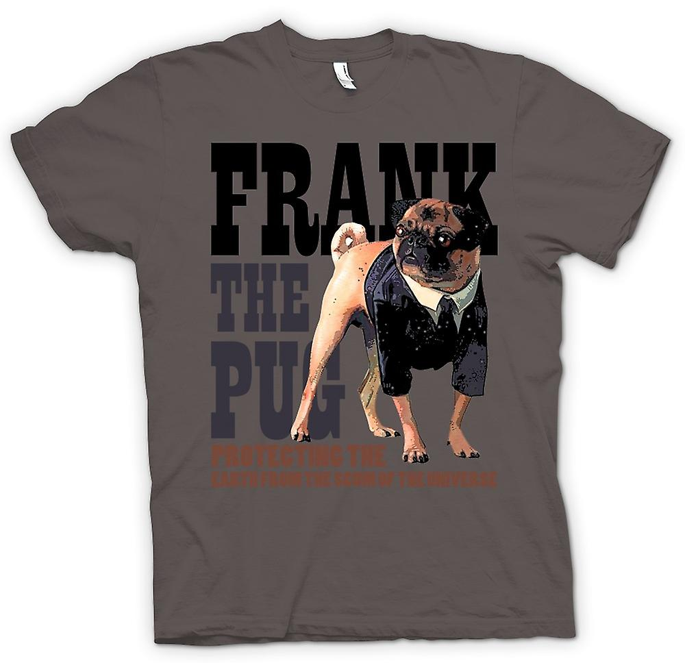 Womens T-shirt - MIB - UFO - Frank The Pug - Alien - Movie