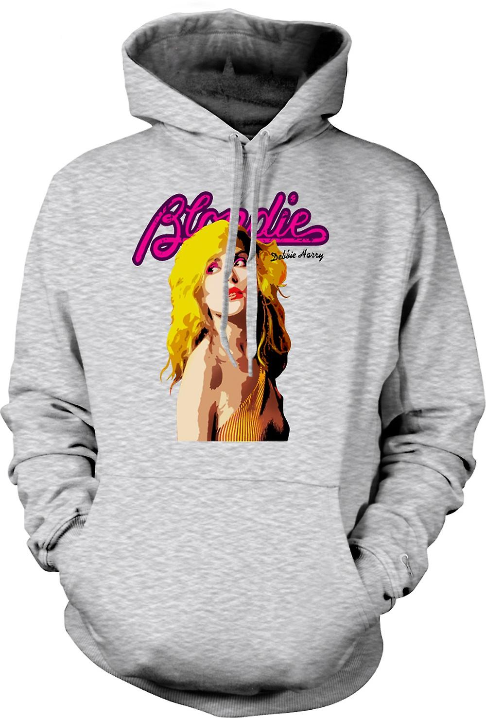 Mens Hoodie - Blondie - Debbie Harry