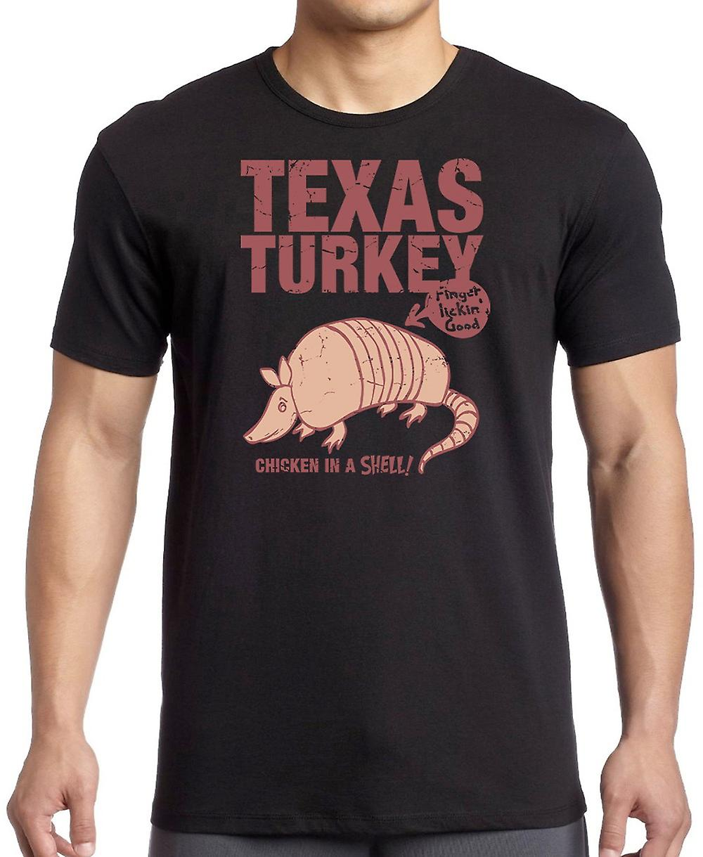 Texas Turkey - Chicken In A Shell - Cool Armadillo T Shirt