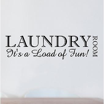 Laundry Room wall sticker decal