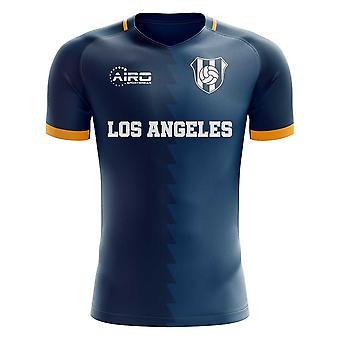 2019-2020 LA los Angeles fora conceito camisa de futebol-Kids