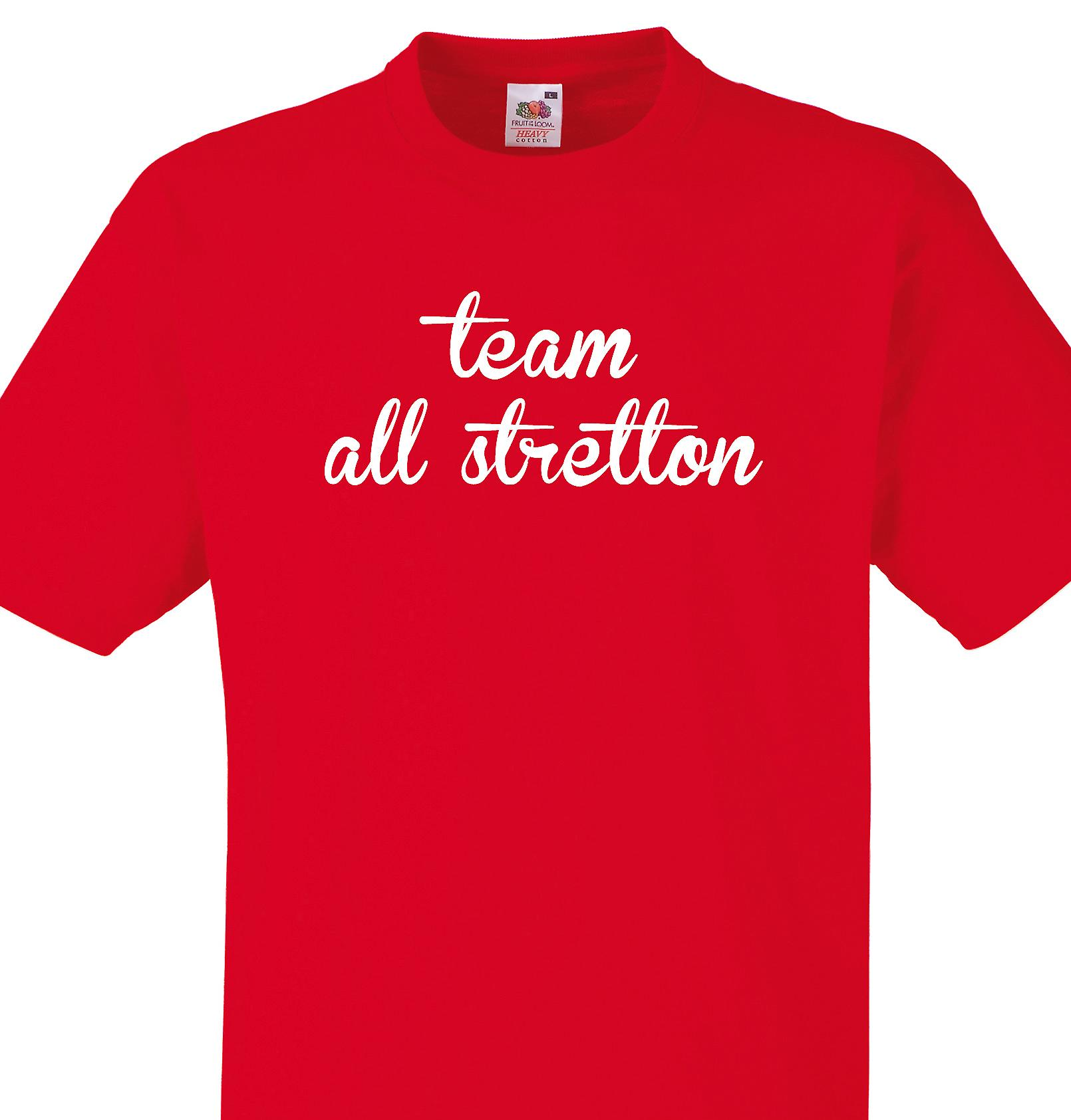 Team All stretton Red T shirt