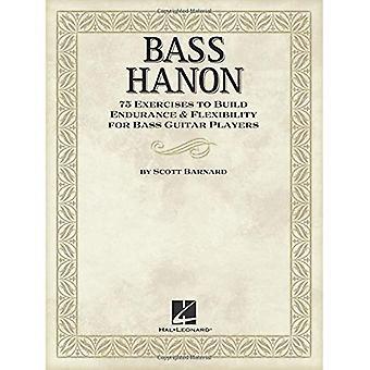Barnard Scott Bass 75 Hanon Übungen zur Ausdauer Bgtr Buch bauen
