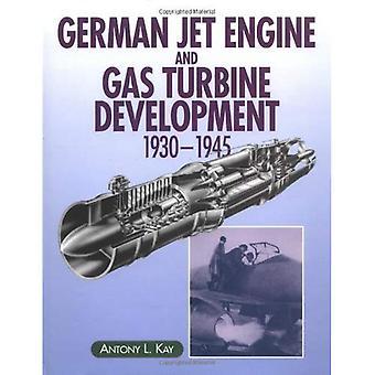 Motor a jato alemão e o desenvolvimento de turbinas a gás, 1930-45