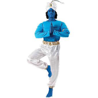 Orion costumes Mens bleu Genie Aladdin film Déguisements costume