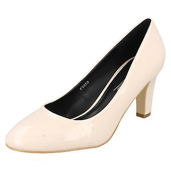 Ladies Anne Michelle Patent Court Shoes