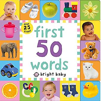 Lift-The-Flap Tab: First 50� Words (Lift-The-Flap Tab Books) [Board book]