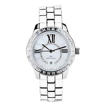 Carlo Monti CMZ01-181-wristwatch, stainless steel, color: white