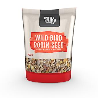 Natures Market 0.9kg (2 lbs) Bag of High Energy Robin Feed Mix Wild Bird Food