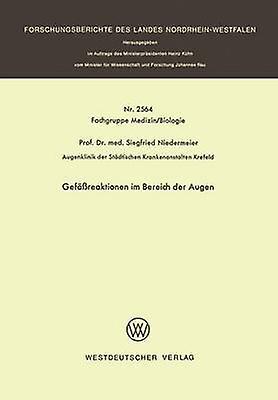 Gefreaktionen im Bereich der Augen by Niedermeier & Siegfried