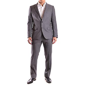 Hugo Boss Grey Wool Suit