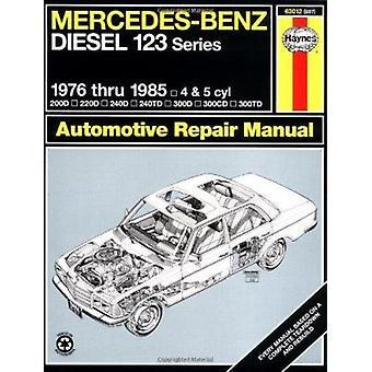 Mercedes-Benz Diesel 123 Series - 1976 Thru 1985 - 200D - 220D - 240D