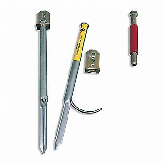 Alexander Rose Bench Soft Ground Anchor Kit & Tool