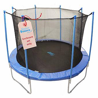 8'  Trampoline Enclosure Safety Net Fits For 8 FT. Round Frames Using 8 Poles or 4 Arches (poles not included)