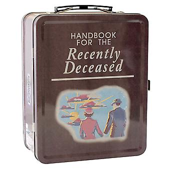 Beetlejuice Handbook Tin Carry All Fun Box