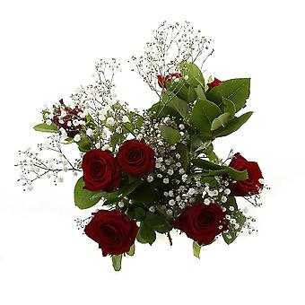 Bunch of Flowers Red Sensation red | Height: 60 cm