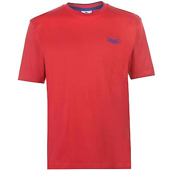 Lonsdale Mens Tipped Tee Top T-Shirt T Shirt Short Sleeve Crew Neck