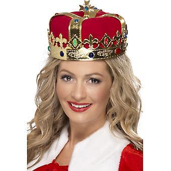 Joyas de la corona real de Rey Carnaval corona DELUXE oro