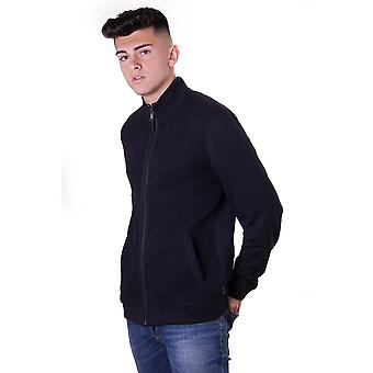 Ted Baker Mens Spied Ls Funnel Neck With Panel