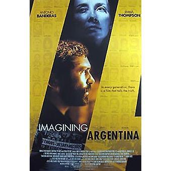 Imaginieren Argentinien (Doppelseitige regelmäßige) Original Kino Poster