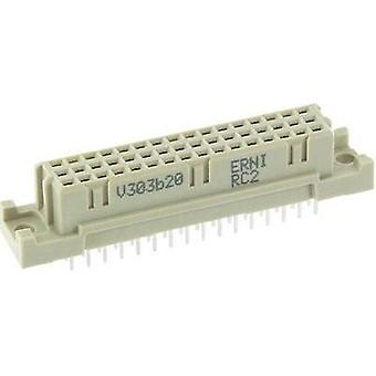 Edge connector (receptacle) 284174 Total number of pins 48 No. of rows 3