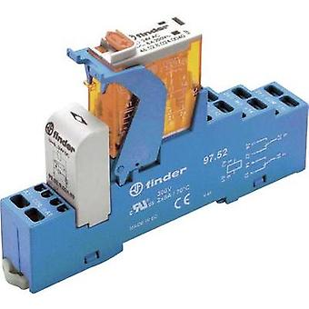 Finder 4C.52.9.024.0050 8A Relay Interface Module 2 changeover contacts. 24 Vdc
