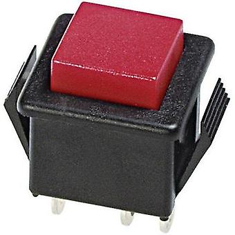 Pushbutton 250 Vac 3 A 1 x Off/(On) APEM 1413NA-2