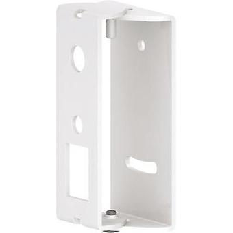 Speaker wall mount Swivelling Distance to wall (max.): 3 cm Hama White 1 pc(s)