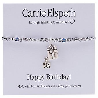 Carrie Elspeth Happy Birthday Sentiment Bracelet