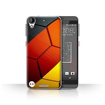 STUFF4 Case/Cover for HTC Desire 630/Germany/German/Football Nations