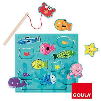 Goula Puzzle Magnetic Fishing (Toys , Preschool , Puzzles And Blocs)