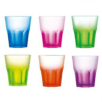 Luminarc 6 30cl With Surt Techno Glass Colors