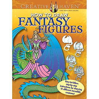 Dover Publications-Creative Haven : How To Draw Fantasy DOV-98747