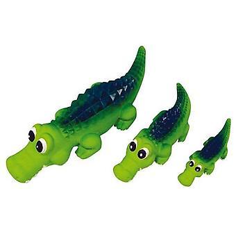 Squeaky Latex Crocodile Medium 21cm