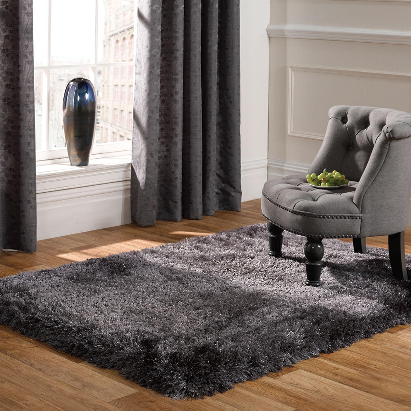 Pearl Rugs In Dark Grey