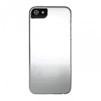 Skech shine 2 piece slim cover case iPhone 5 / 5s silver