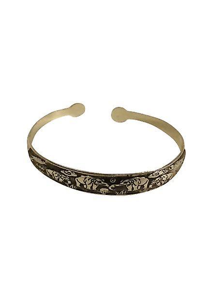 Nice vintage boho statement cuff bracelet model A