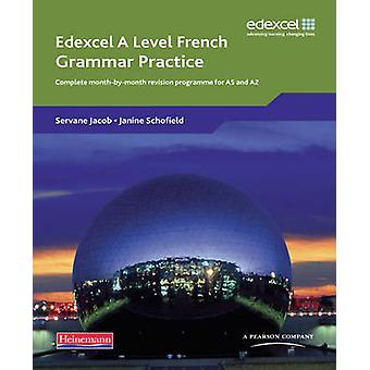 Edexcel A Level French Grammar Practice Book by Bell