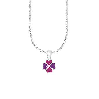 Princess Lillifee child kids necklace silver four-leaf clover PLFS/78 - 566612