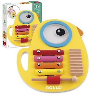 Goula Tiki Musical 3 In 1 (Toys , Educative And Creative , Music , Infants)