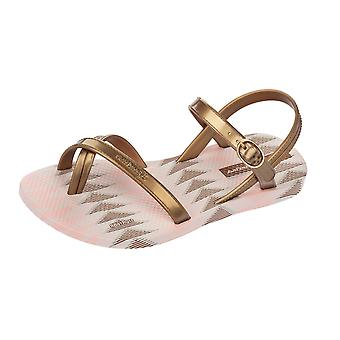 Ipanema Fiesta V Kids Flip Flops / Sandals - Gold