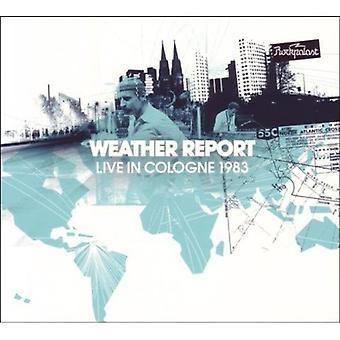 Informe del tiempo - en vivo en Colonia 1983 importación de Estados Unidos [CD]